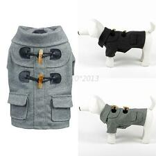 Puppy Pet Dog Costume Warm Winter Cotton Coat Clothes Apparel Jacket Clothing