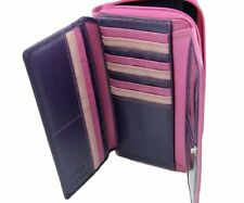 Visconti RB78 X Large Soft Leather Womens Purse Wallet Checkbook Clutch Travel
