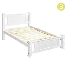 i.Life Beds NEW Wooden Bed Frame Pine Wood