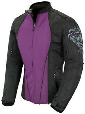 Joe Rocket Ladies Alter EGO 3.0 Textile Jacket Purple Black Free Size Exchanges