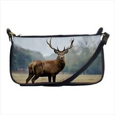 Wild Deer Mini Coin Purse & Shoulder Clutch Handbag