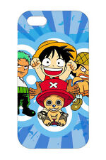 Cartoon ONE PIECE Luffy Design Hard Case Cover For Apple iPhone 6/6s 6Plus 5s SE