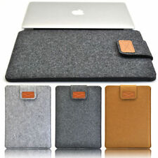 "13"" 15"" Woolen Felt Sleeve Bag Laptop Case Cover for Apple Macbook Pro Air new"