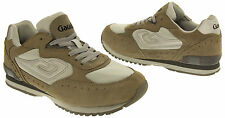 Mens Suede Leather Lace Up Trainers Grey Casual Pump Shoes Size 6 7 8 9 10 11 12