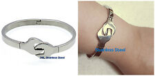 .316L STAINLESS STEEL LADIES MENS BIKER MECHANIC WRENCH TOOL BANGLES
