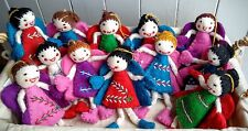 Fairy Angel Felt Hanging Doll Fair Trade Hand Crafted Gift Present Collectables