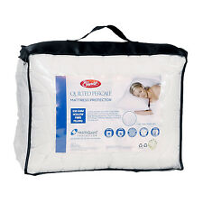 NEW Quilted Percale Fully Fitted Mattress Protector
