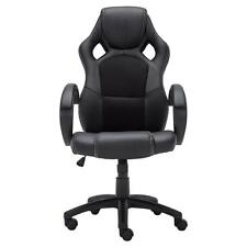 Racing Chair HighBack PU Leather Gaming Swivel Bucket Seat Computer Office Chair