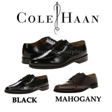 "NEW MEN'S COLE HAAN LEATHER ""CALHOUN"" OXFORD DRESS SHOE - BROWN OR BLACK"