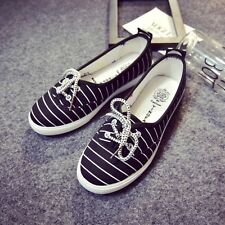 New Womens Shoes Casual Sports Canvas Loafers Lzay Shoes Leisure Walking Running