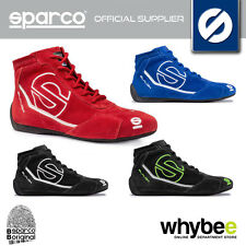 001235 SPARCO SLALOM RB3 RB-3 SUEDE RACE RALLY BOOTS FIA FIREPROOF SIZES 36-48