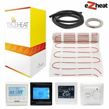 Electric Underfloor Heating mat kit 200W/m2 All Sizes with Free Thermostat