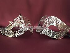 Couple Masquerade Ball Mask Pair Costume Dance Prom Party Birthday Carnival