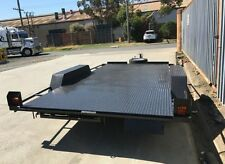 CAR CARRIER Car Trailers Tandem Trailer 16x6'6 Includes Ramps, Spare & Jockey