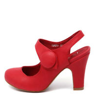 New I Love Billy Tendra Red Women Shoes Heels High Heels