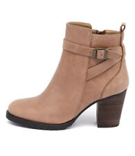 New Tony Bianco Thorley Caramel/Choc Women Shoes Casuals Boots Ankle Boots