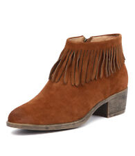 I Love Billy Alyssa Cognac Suede Women Shoes Casuals Boots Ankle Boots