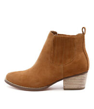I Love Billy Lanni Tan Suede Women Shoes Casuals Boots Ankle Boots