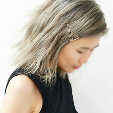 Women Girls Triangle Hair Clip Delicate Hair Pin Hair Decorations Jewelry CLK