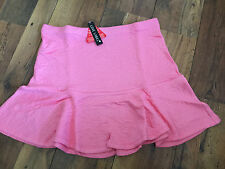Coral rose embossed flare skirt - PLUS SIZE 18 - BNWT Party/wedding/summer