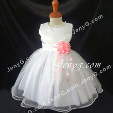 #NLPK8 Baby Flower Girl Wedding Graduation Holiday Birthday Party Dresses Gowns