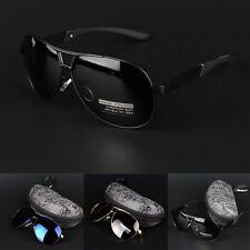 Hot Mens sunglasses polarized UV400 Polarized coating Driving Glass Sun glasses