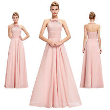 Chiffon Evening Dress Formal Party Ball Gown Prom Wedding Bridesmaid Cocktail