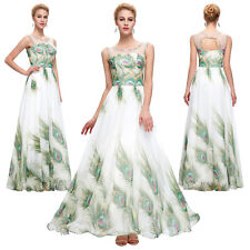 Long Maxi Bridesmaid Dress Evening Formal Party Cocktail Prom Wedding Gown Ball