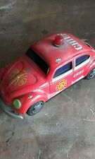 tin plate toy fire car vw