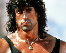 Rambo III Sylvester Stallone Close Up in Vest Poster or Photo