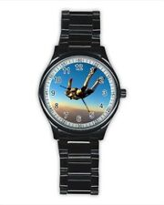 Sky Diving Stainless Steel Watches