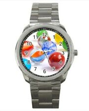 Marbles Stainless Steel Watches