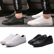 New Fashion Mens Casual Shoes Breathable Sneakers Running Lace Up Shoes