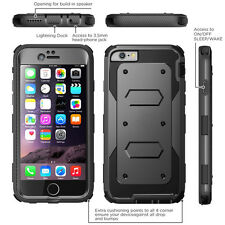 Shockproof Heavy Duty Hybrid Rugged Armor Hard Case Cover for iPhone 6 / 6S Plus