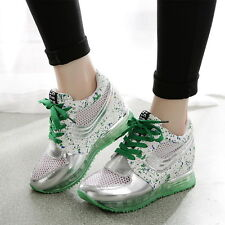 2016 Summer Womens Girls Air Max Mesh Boots Athletic Running Trainers Sneakers