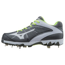 Mizuno Women's 9-Spike Swift 4 Metal Fastpitch Softball Cleats - 320510 - Grey