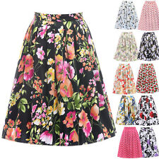 GK OCCIDENT WOMEN'S Vintage Retro Dress Cotton Skirt 19 Patterns Short Pinup NEW