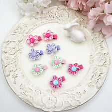 1 Pair Cute 4 Colors Sun Flower Girl Child Hairpin Hairdress Kid Baby Hair Clip
