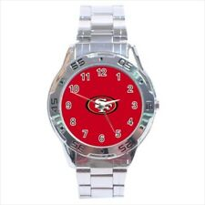 San Francisco 49ers Stainless Steel Watches - NFL Football