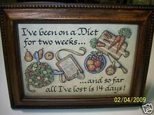 Babbling Brook Framed Prints 4 x 6 Funny Quotes   Plastic Wood Frame w/ Stand