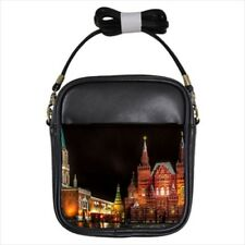 Red Square Moscow Russia Girls Leather Sling Bag & Women's Handbag