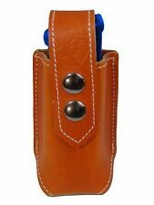 NEW Barsony Tan Leather Single Magazine Pouch Springfield Full Size 9mm 40 45