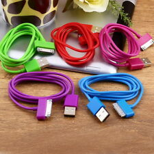 USB Charger Sync Data Cable for iPad2 3 iPhone 4 4S 3G 3GS iPod Nano Touch MC