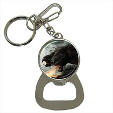 Chimera Bottle Opener Keychain and Beer Drink Coaster Set