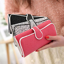 Korean style COOFI Women Ladies PU Leather Clutch Wallet Long Card Holder Purse