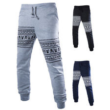Men's Casual Dance Sports Jogging Trousers Jogger Print Skull SweatPants Pants