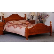 By Designs Beds NEW Simpson Bed in Golden Oak