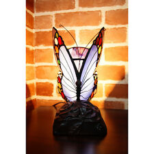 Joanne Tiffany Lamps NEW Butterfly Tiffany Accent Lamp