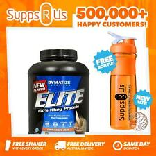 DYMATIZE ELITE WHEY BUTTER CREAM TOFFEE 5LBS 100% WHEY PROTEIN ISOLATE LOW CARB
