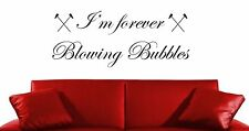 IM FOREVER BLOWING BUBBLES ED WEST HAM UNITED FOOTBALL WALL ART STICKER